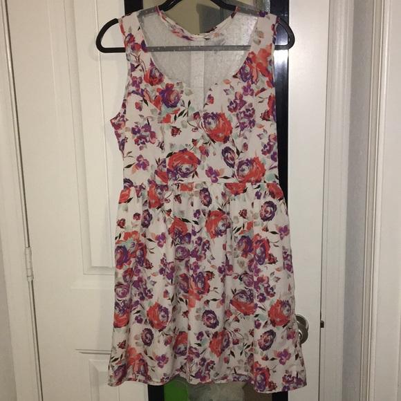 53f1b8386 Pinky Dresses | Juniors Floral Dress | Poshmark